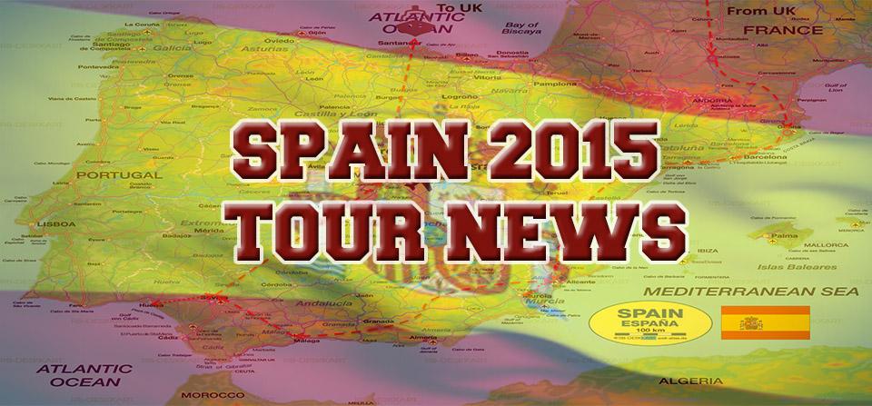 Final 2015 Tour News