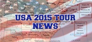 USA 2015 Tour News