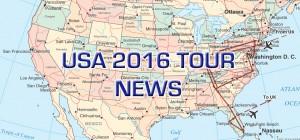 USA 2016 Tour News