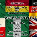 2012 Tour Dates