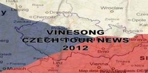 Vinesong Czech Tour News 2012