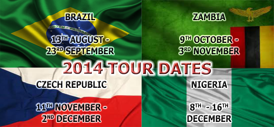 2014 Tour Dates