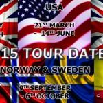 2015 Tour Dates